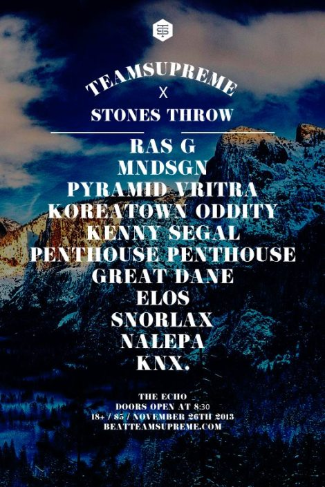 Team Supreme X Stones Throw